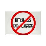 No Bitch-Ass Complaining Rectangle Magnet (100 pac