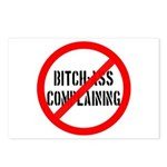 No Bitch-Ass Complaining Postcards (Package of 8)