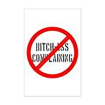 No Bitch-Ass Complaining Mini Poster Print