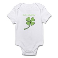 1st St Patty's Day Infant Bodysuit