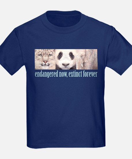 Endangered now, Extinct forev T