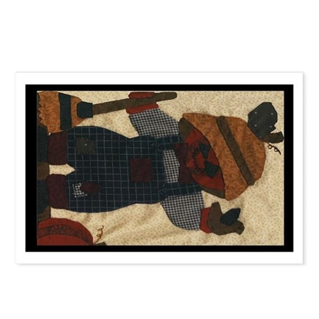 Scarecrow Quilt Postcards (Package of 8)