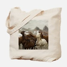 Colorado Horse Roundup Tote Bag