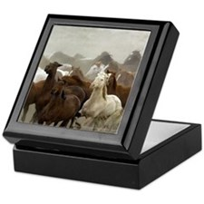 Colorado Horse Roundup Keepsake Box
