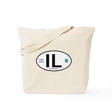 Israel Euro Oval Tote Bag