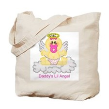 Daddy's Lil Angel Tote Bag