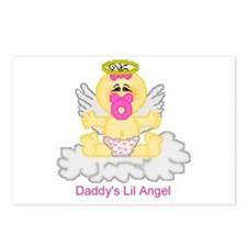 Daddy's Lil Angel Postcards (Package of 8)