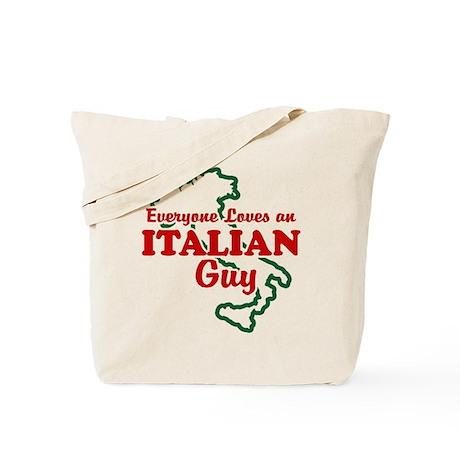 Everyone Loves an Italian Guy Tote Bag