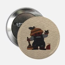 "Scarecrow Quilt 2.25"" Button (10 pack)"