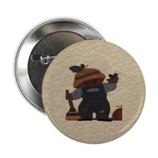 "Scarecrow Quilt 2.25"" Button (100 pack)"