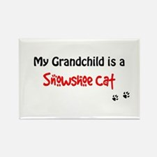 Snowshoe Grandchild Rectangle Magnet