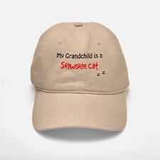 Snowshoe Grandchild Baseball Baseball Cap