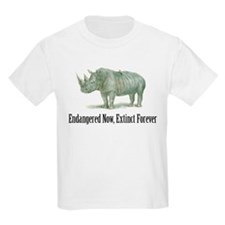 endangered rhinoceros T-Shirt