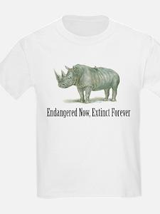 endangered rhinoceros T-Shirt