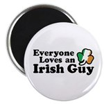 Everyone Loves an Irish Guy Magnet
