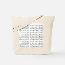 Cute Obsessive compulsive disorder Tote Bag
