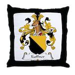 Kuffner Family Crest Throw Pillow