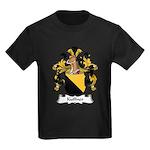 Kuffner Family Crest Kids Dark T-Shirt