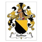 Kuffner Family Crest Small Poster