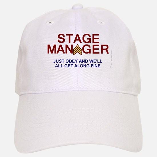 STAGE MANAGER Baseball Baseball Cap humorous SGT STRIPES with OBEY
