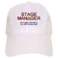 STAGE MANAGER cap humorous SGT STRIPES with OBEY