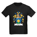 Kubler Family Crest Kids Dark T-Shirt