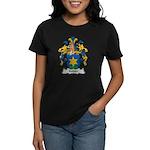 Kubler Family Crest Women's Dark T-Shirt