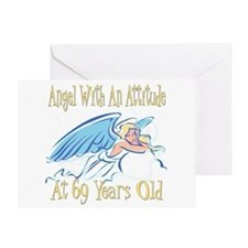 Angel Attitude 69h Greeting Card