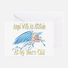 Angel Attitude 69h Greeting Card