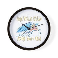 Angel Attitude 69h Wall Clock