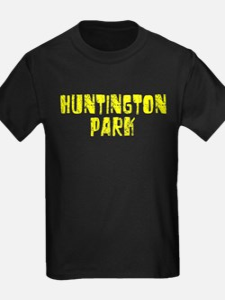 Huntington P.. Faded (Gold) T