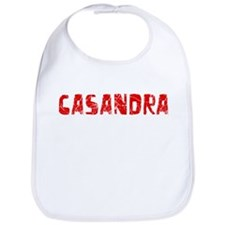 Casandra Faded (Red) Bib