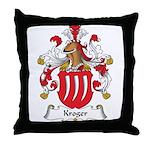 Kroger Family Crest Throw Pillow