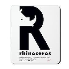 Mum Rhinoceros Mousepad