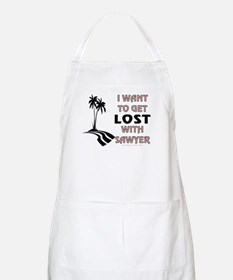 Lost With Sawyer BBQ Apron