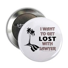 "Lost With Sawyer 2.25"" Button"