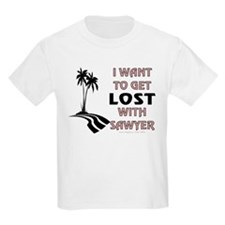 Lost With Sawyer T-Shirt