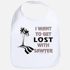Lost With Sawyer Bib