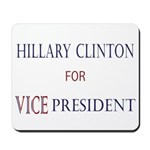 Vice President Hillary Mousepad