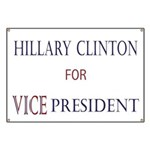 Vice President Hillary Banner