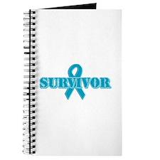 Teal Ribbon Survivor Journal