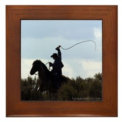 COWBOY Framed Tile