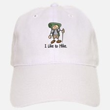 I Like To Hike (Green) Baseball Baseball Cap