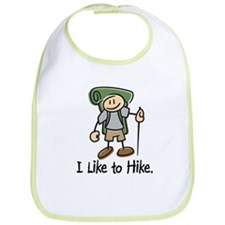 I Like To Hike (Green) Bib