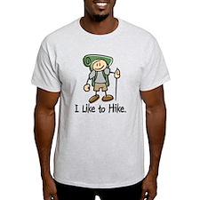 I Like To Hike (Green) T-Shirt