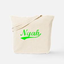 Vintage Nyah (Green) Tote Bag