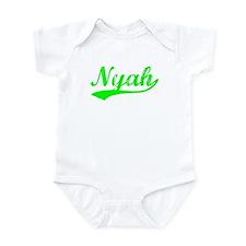 Vintage Nyah (Green) Infant Bodysuit
