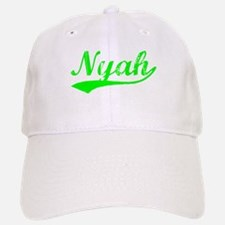 Vintage Nyah (Green) Baseball Baseball Cap