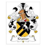 Krainer Family Crest Small Poster