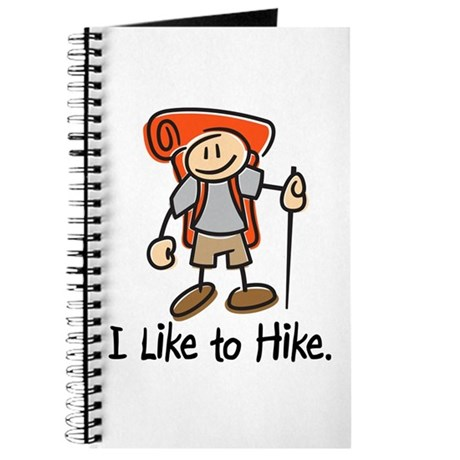 I Like To Hike (Orange) Journal